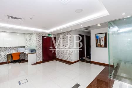 Fully Fitted Office Jumeirah Bay X2  Near to Metro