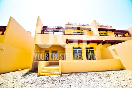 3 Bedroom Townhouse for Sale in Al Raha Golf Gardens, Abu Dhabi - Hot Deal! Vacant 3BR TH w/ Private Garden