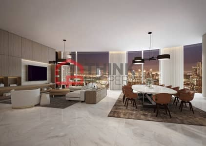 4 Bedroom Penthouse for Sale in Downtown Dubai, Dubai - Burj Khalifa and Fountain Views 4BR Penthouse