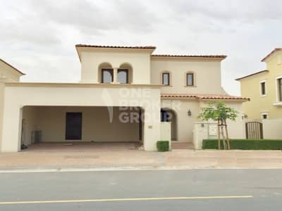 4 Bedroom Villa for Rent in Arabian Ranches 2, Dubai - Vacant type 2 | Single row | Large plot