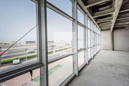 مکتب  للايجار في شارع الشيخ زايد، دبي - Grade A Shell and core office in Rawabeh