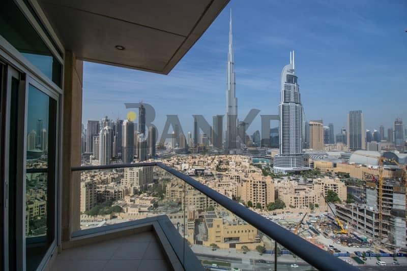 2 Full Burj Khalifa view  Spacious  Bright 