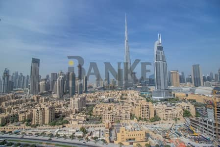 Full Burj Khalifa view  Spacious  Bright 