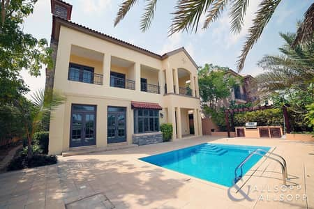5 Bedroom Villa for Sale in Jumeirah Golf Estate, Dubai - Best Deal Oakmont in Flame Tree Ridge
