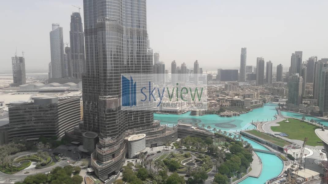Full Burj View | 3BR + Maid | Metro Link