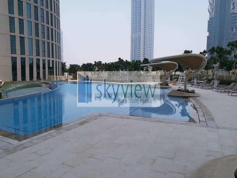 10 Full Burj View | 3BR + Maid | Metro Link