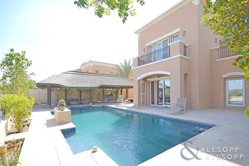 2 Golf Course Backing Type 17   Private Pool