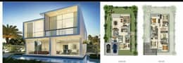 2 The independent villa has 6 rooms in Dubai's largest residential project ever