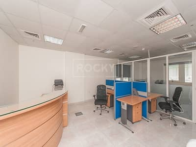 Smallest Furnished Office with partition in Arjan