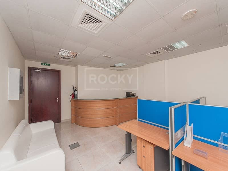 2 Smallest Furnished Office with partition in Arjan
