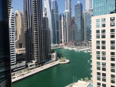 2 Bedroom Apartment for Rent in Dubai Marina, Dubai - Spacious 2B+M