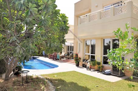 5 Bedroom Villa for Rent in The Meadows, Dubai - Type 8 | Full Lake view | Private Pool