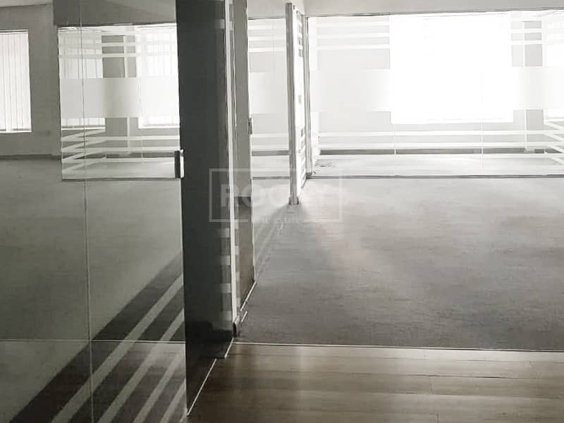 2 Fitted Office with Partition in Barsha Heights
