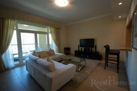 2 Bedroom Flat for Rent in Palm Jumeirah, Dubai - Fully Furnished 2Bed+Maid in Al Khudrawi