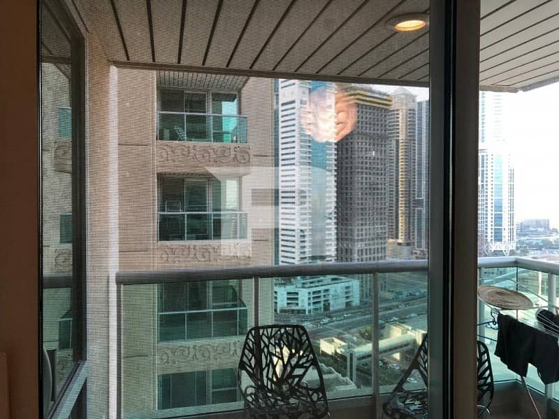 10 1 BR+study prime location EMAAR 6 TOWERS