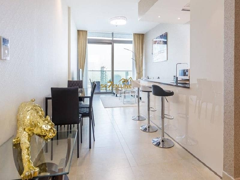 2 Luxury Furnished 2 Bed w/ Full Marina View