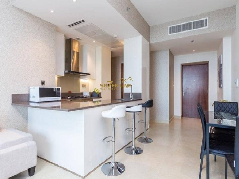 15 Luxury Furnished 2 Bed w/ Full Marina View