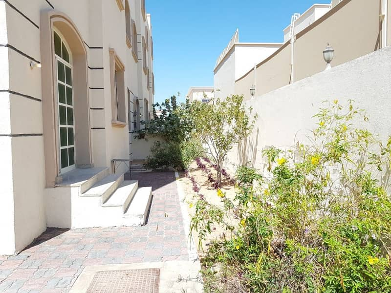 Private Garden/ Private Entrance Shared Swimming Pool One Bedroom in Khalifa city A