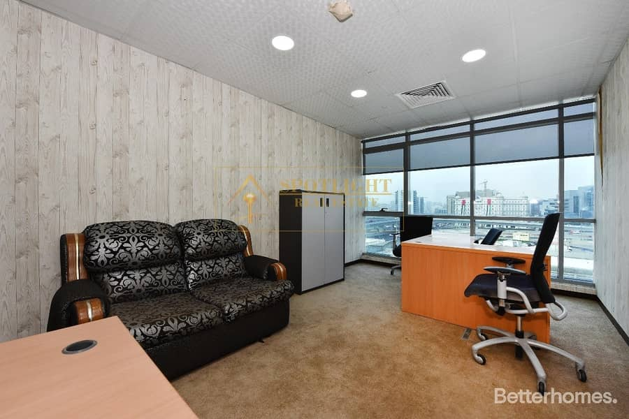 10 SEPARATE FURNISHED OFFICE FOR RENT ON AIRPORT ROAD