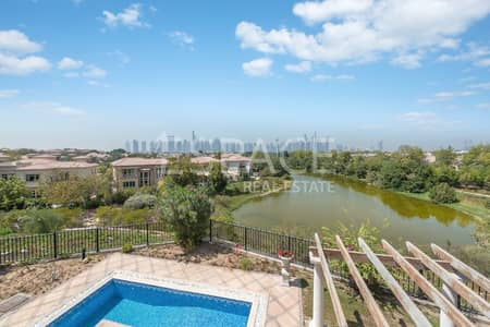 4 Bedroom Villa for Rent in Jumeirah Islands, Dubai - Full Lake View | Fully Furnished | Vacant
