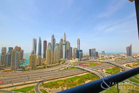 2 Bedroom Flat for Rent in Jumeirah Lake Towers (JLT), Dubai - Upgraded | Skyline and Golf Course Views