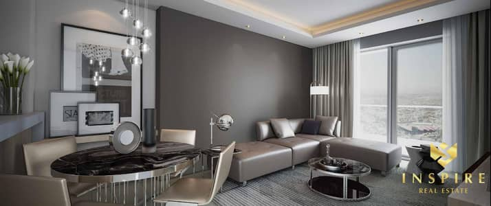 1 Bedroom Hotel Apartment for Sale in Business Bay, Dubai - 1BR- Paramount Hotel | Burj Khalifa View