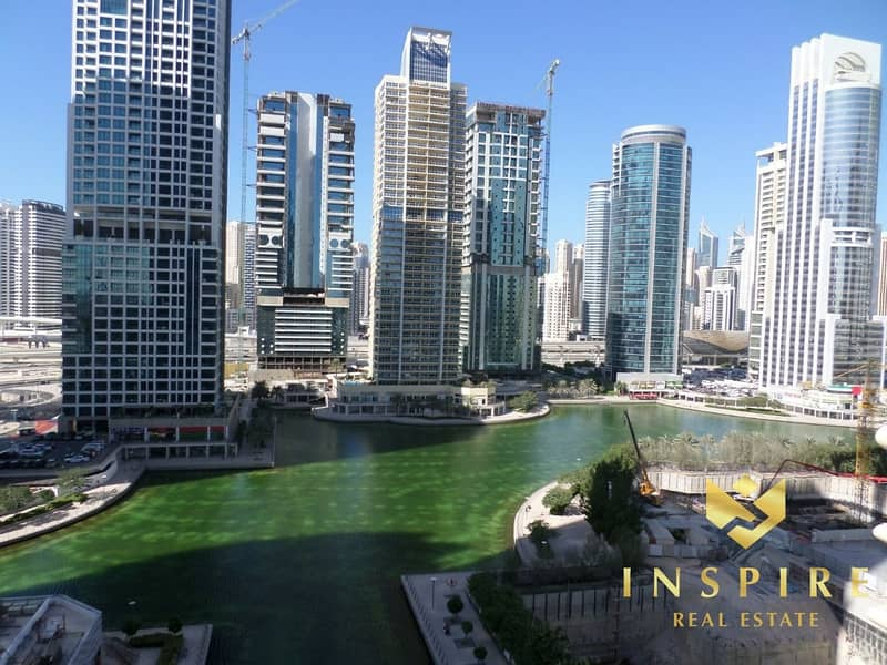 2BR -  Furnished  | Balcony with  Lake View