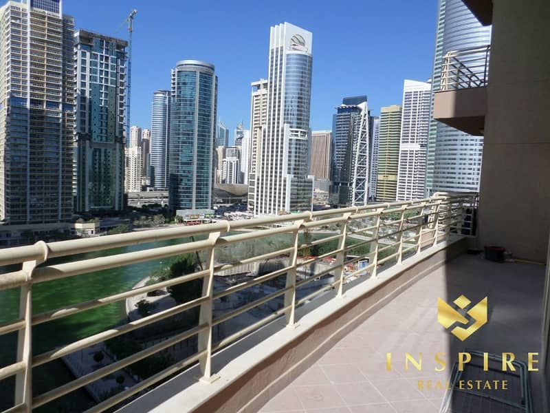 2 2BR -  Furnished  | Balcony with  Lake View