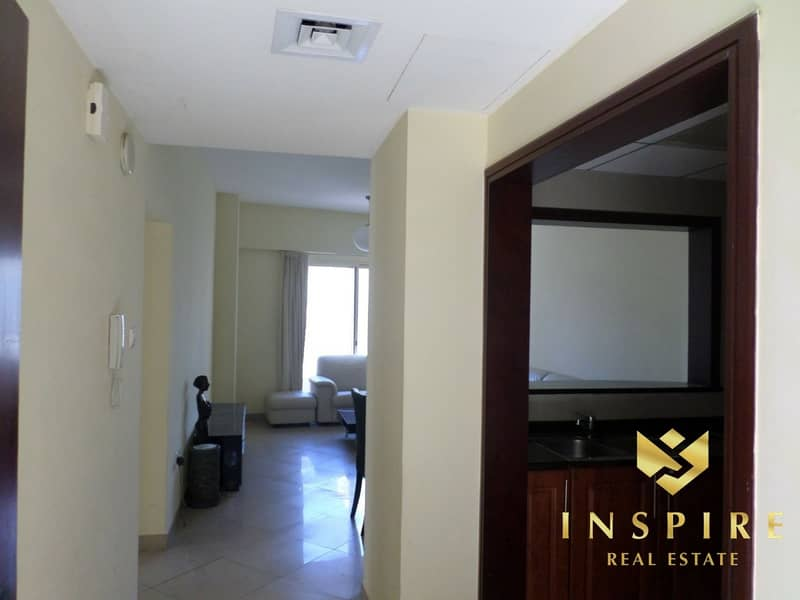 16 2BR -  Furnished  | Balcony with  Lake View