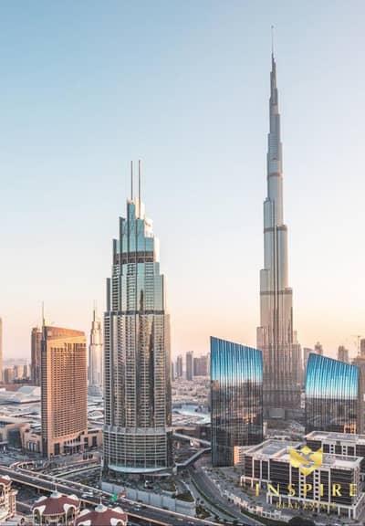 شقة 3 غرفة نوم للبيع في وسط مدينة دبي، دبي - Just 5 %  Booking |3 BR Burj Khalifa View