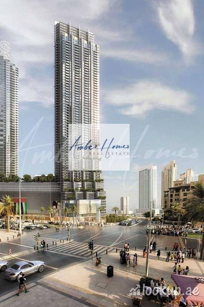 10 Connected to Dubai Mall | 1BR+Study | No Premium