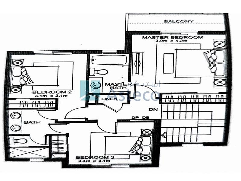 12 3 Bedroom Villa|+ Maid | Type M|Mid Unit