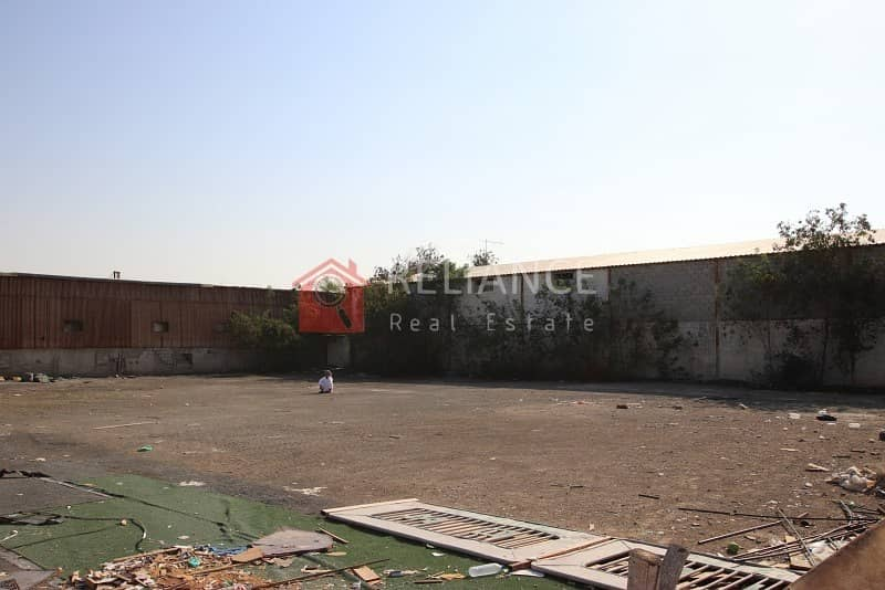 000 SQ FT OPEN LAND IN INDUSTRIAL 1 W/ BOUNDARY WALL