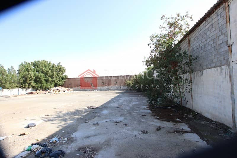 2 000 SQ FT OPEN LAND IN INDUSTRIAL 1 W/ BOUNDARY WALL