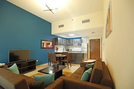 1 Bedroom Flat for Sale in Jumeirah Village Triangle (JVT), Dubai - Fully Furnished One Bed Room for Sale on  Higher Floor JVT