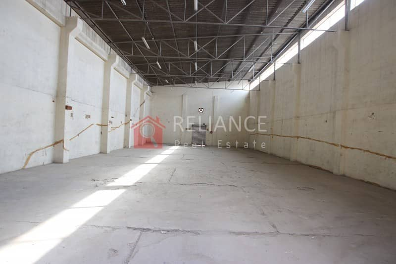 1 Lowest Price AED 32/SQ FT - TAX INCLUDED - COMMERCIAL WAREHOUSE IN RAS AL KHOR