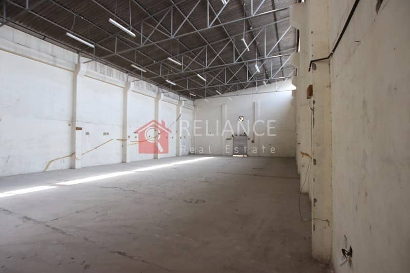 2 Lowest Price AED 32/SQ FT - TAX INCLUDED - COMMERCIAL WAREHOUSE IN RAS AL KHOR