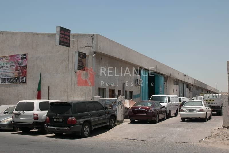 2 3770 sqft commercial warehouse including 20% tax in Ras Al Khor