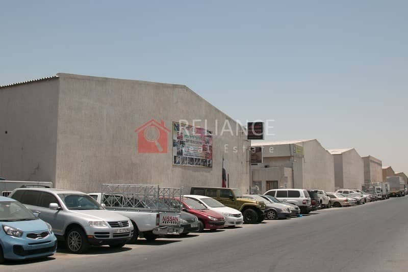 8 3770 sqft commercial warehouse including 20% tax in Ras Al Khor