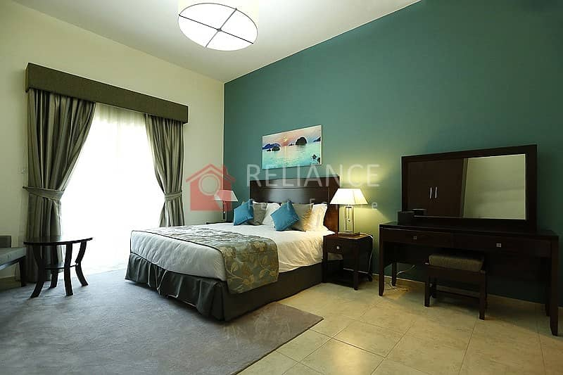 2 Furnished   One Bed Room for Sale  Pool & Community View JVT