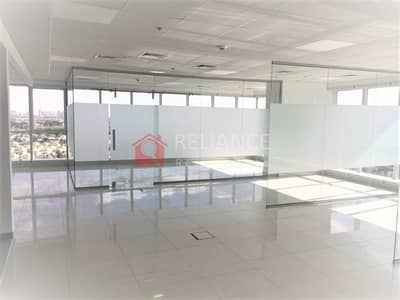 Office for Rent in Jumeirah Lake Towers (JLT), Dubai - Fitted  Partitioned  Corner Office|JBC5 For Rent