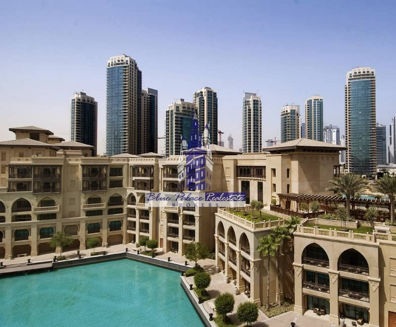 Very Rare Premium Old Town Al Saha Office in Old town with Lake View