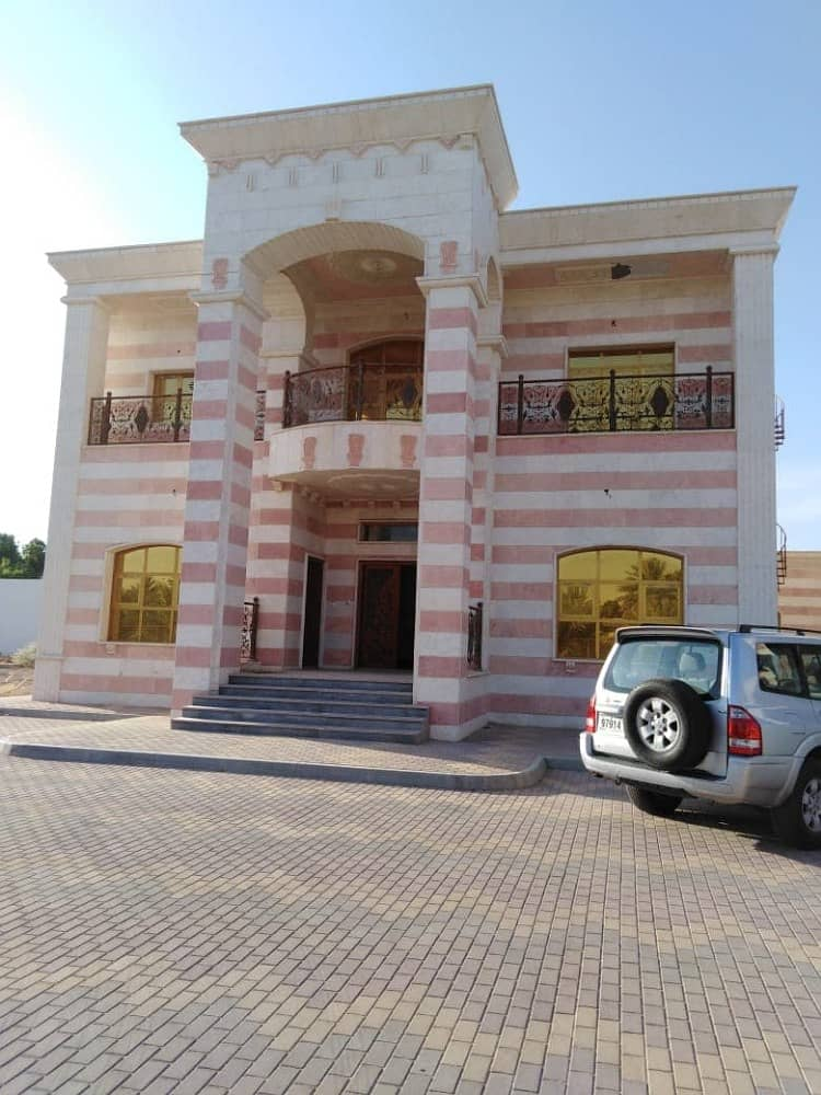 Modern Arabic Style Duplex Villa 5BHK Majlis Balcony Maids room located at Zakher