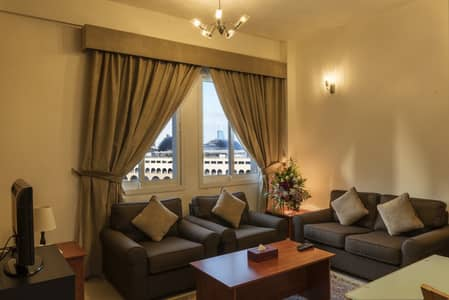 1 Bedroom Hotel Apartment for Rent in Al Barsha, Dubai - ONE BED ROOM HALL