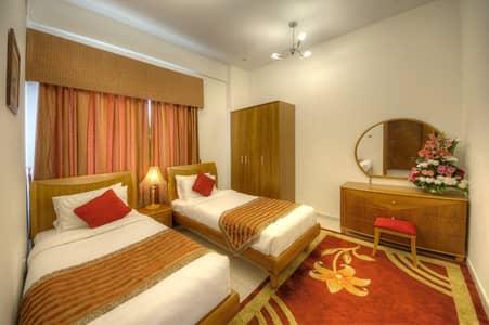 2 Bedroom Hotel Apartment for Rent in Al Barsha, Dubai - BED ROOM 2
