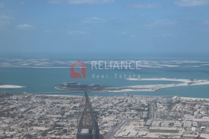 Exclusive 95th Floor Full Sea View 3 Bed