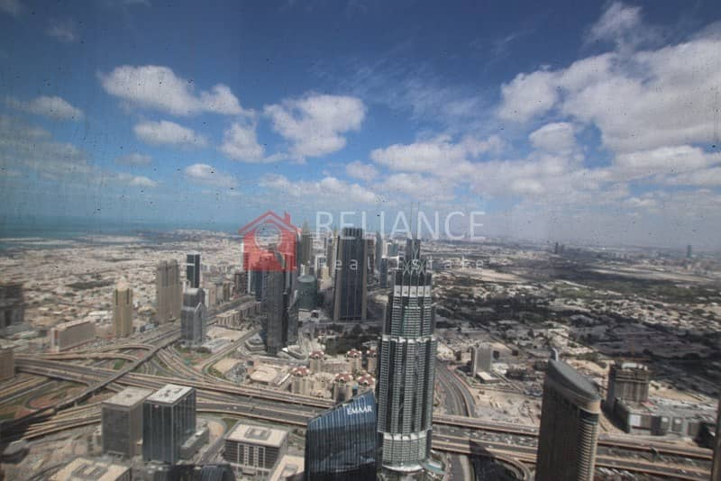10 Exclusive 95th Floor Full Sea View 3 Bed