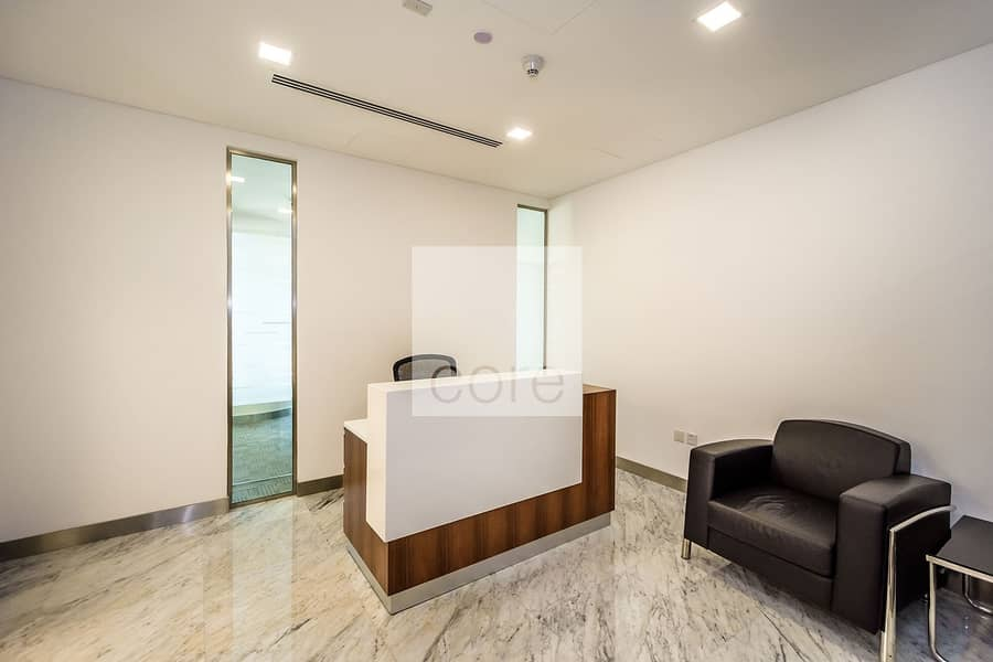 Ideally located | Fitted furnished office