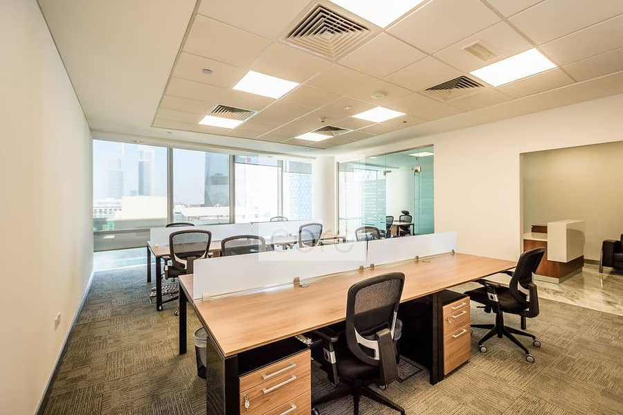 Fitted furnished office | All inclusive