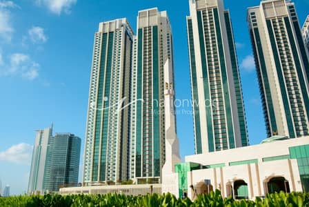 2 Bedroom Apartment for Sale in Al Reem Island, Abu Dhabi - Hot Price 2 BR Apt. in Marina Heights 2!